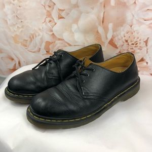 Dr. Martens shoes loafers black leather size 10